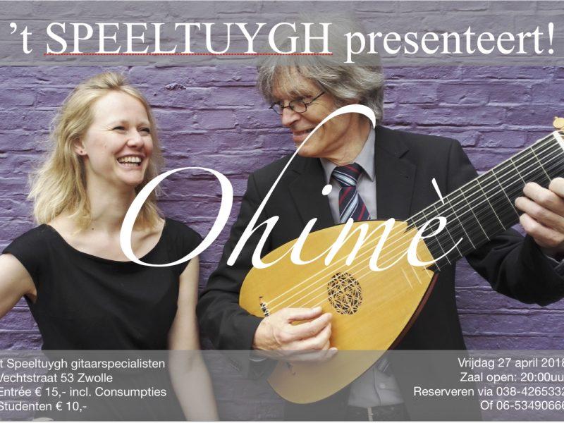 't SPEELTUYGH gitaarspecialisten presenteert: Ohimè