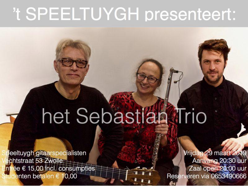 't SPEELTUYGH presenteert: het Sebastian Trio